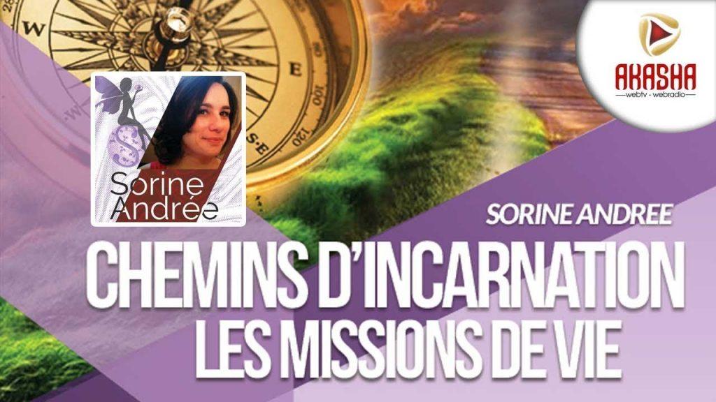 Sorine Andrée   Chemin d'incarnation, mission de vie