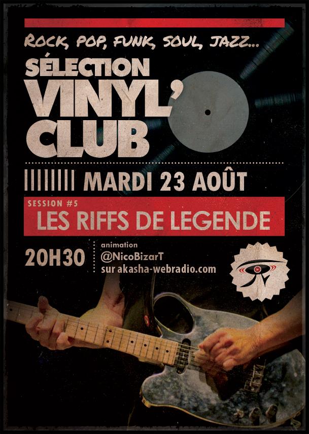 Sélection Vinyl'Club #5 | Les riffs de légende part1