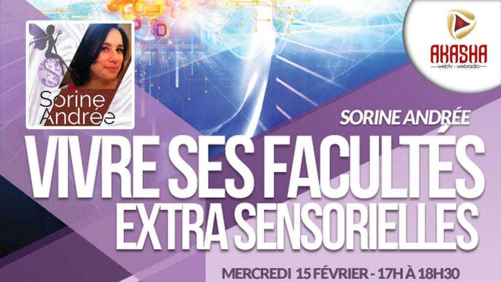 Sorine ANDREE | Vivre ses facultés extrasensorielles