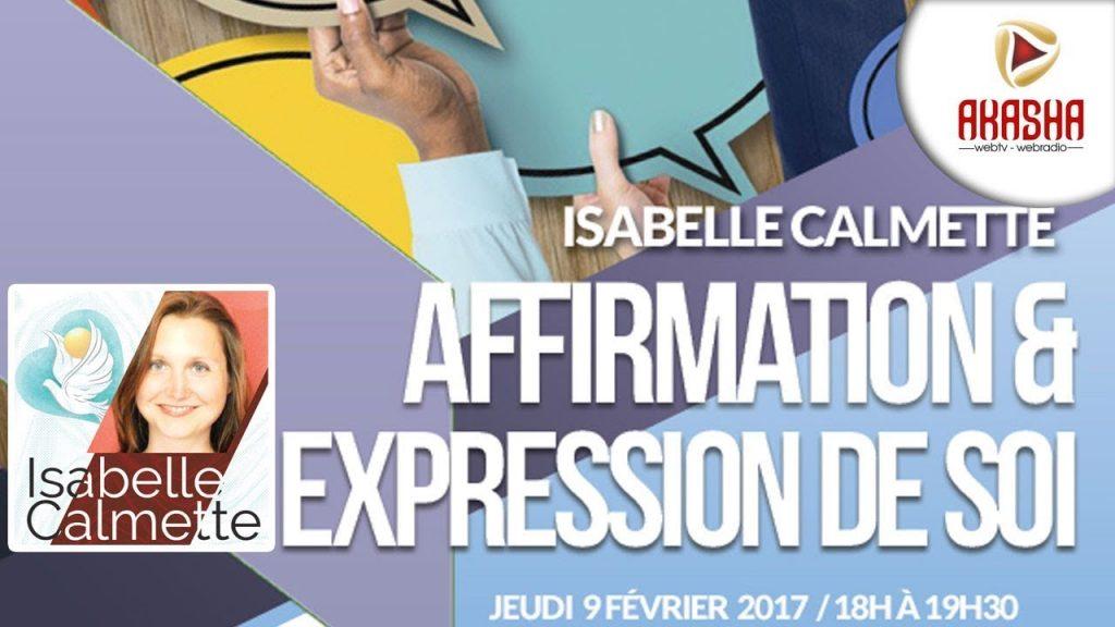 Isabelle CALMETTE | Affirmation et expression de soi