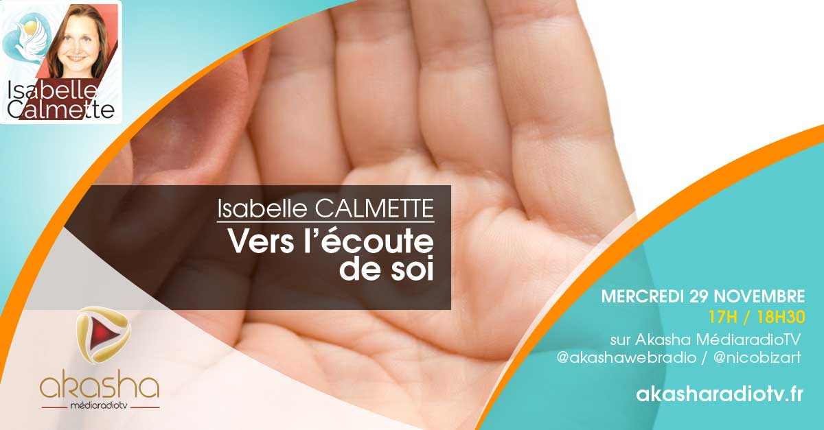 Isabelle CALMETTE | Vers l'écoute de soi