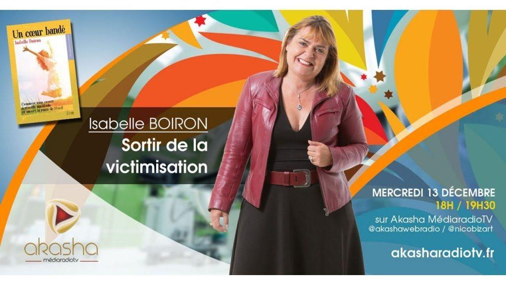 Isabelle BOIRON | Sortir de la victimisation