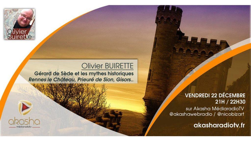 Olivier Buirette | Gerard de Sède et les mythes historiques (Rennes le Château, Prieuré de Sion…)