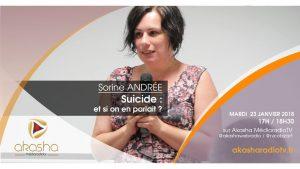 Sorine Andrée | Suicide : et si on en parlait ?