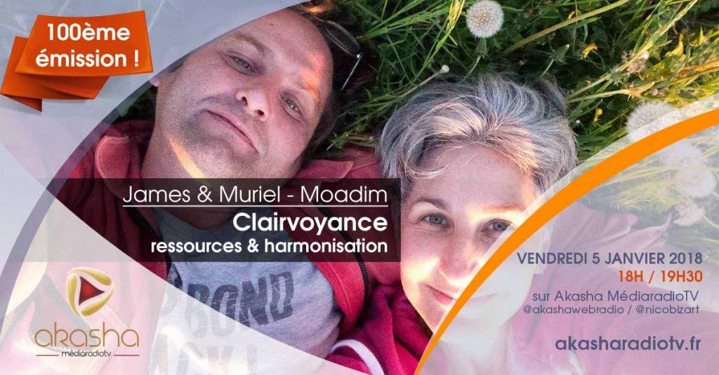 James et Muriel – Moadim | Clairvoyance, ressources et harmonisation