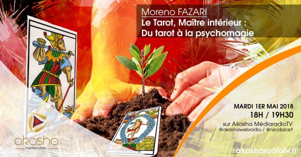 Moreno Fazari | Le Tarot, Maître intérieur – Du tarot à la psychomagie