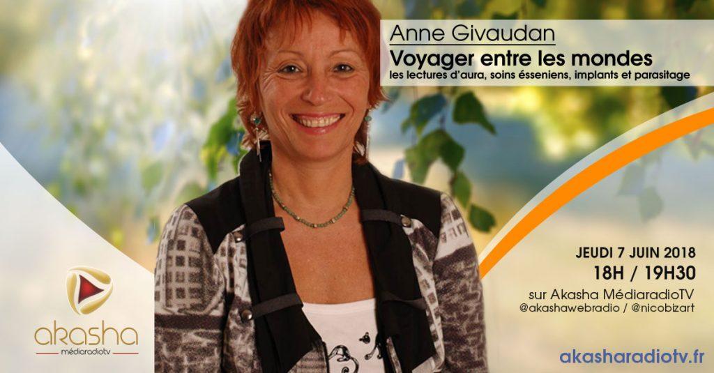 Anne Givaudan | Voyager entre les mondes