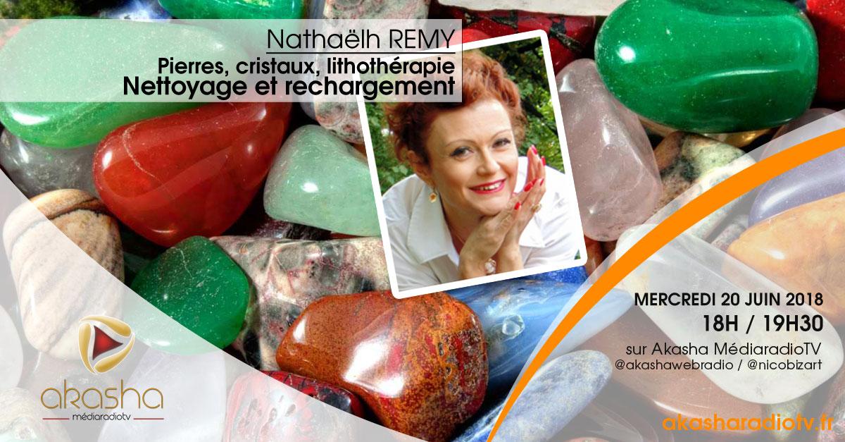 Nathaelh Remy | Pierres et cristaux, nettoyage et rechargement