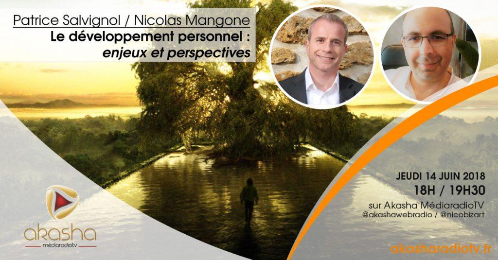 Patrice Salvignol & Nicolas Mangone | Le développement personnel, enjeux et perspectives