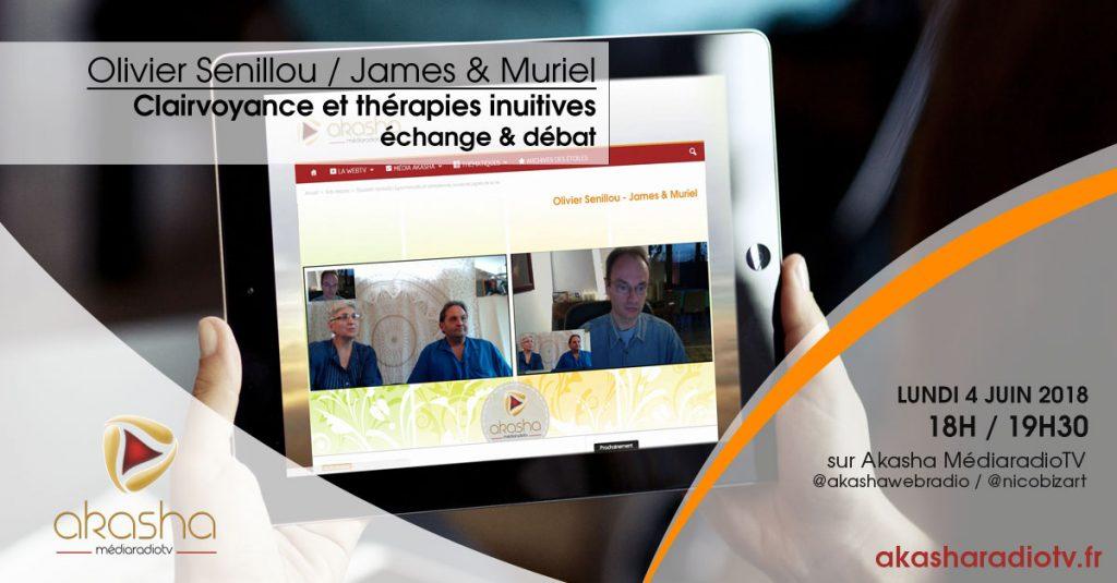 Olivier Senillou, James & Muriel | Clairvoyance et thérapies intuitives