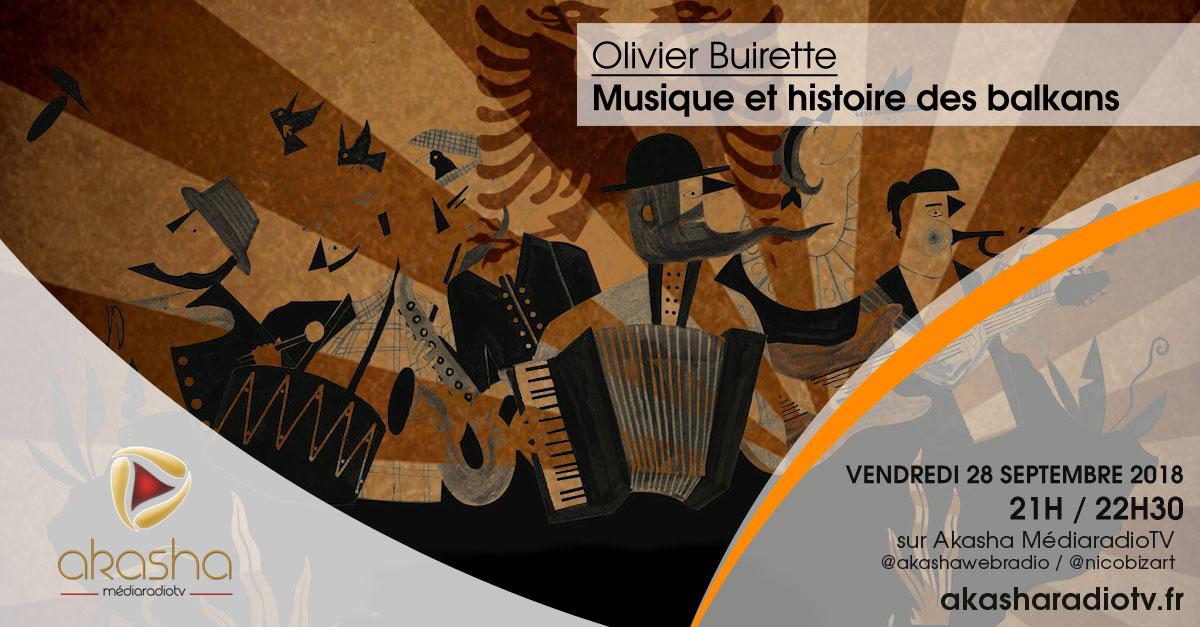 Olivier Buirette | Musique et histoire des balkans