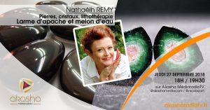 Nathaëlh REMY | Pierres et cristaux : larme d'apache, melon d'eau