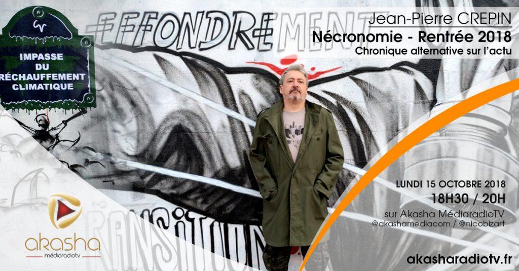 Jean-Pierre Crepin   Nécronomie rentrée 2018