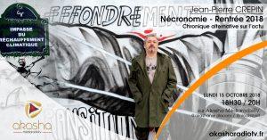Jean-Pierre Crepin | Nécronomie rentrée 2018
