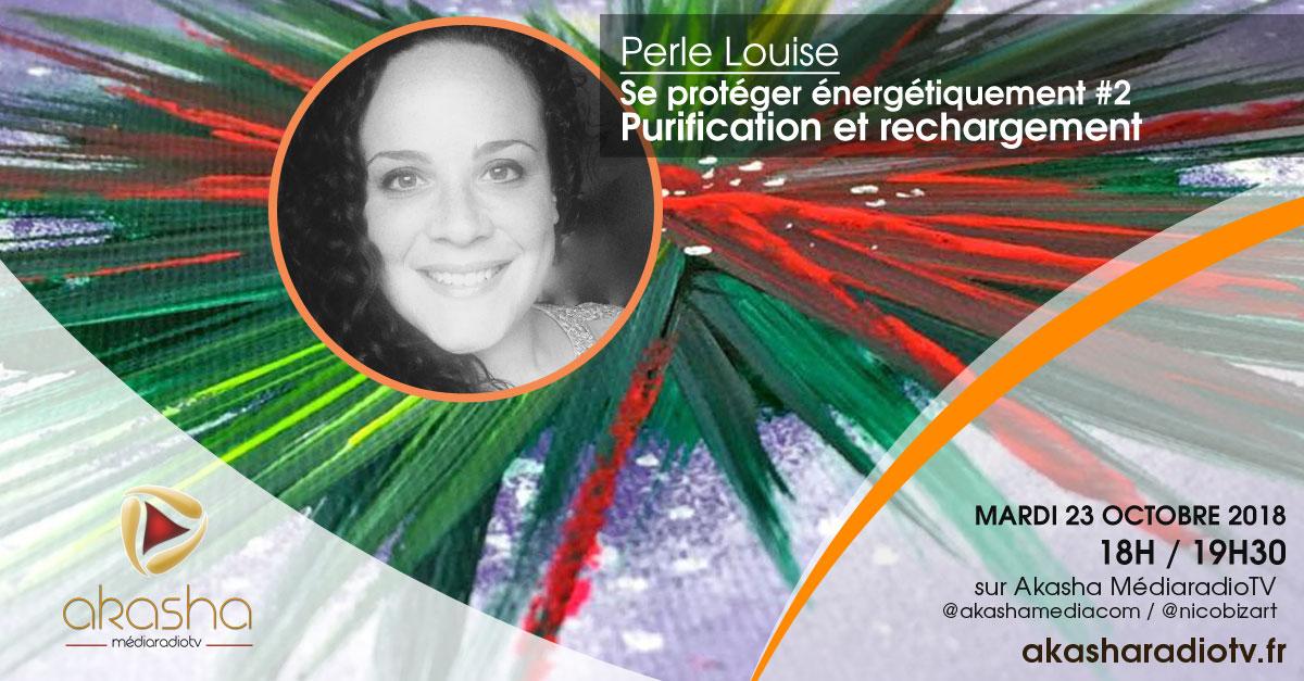 Perle Louise | Purification et rechargement