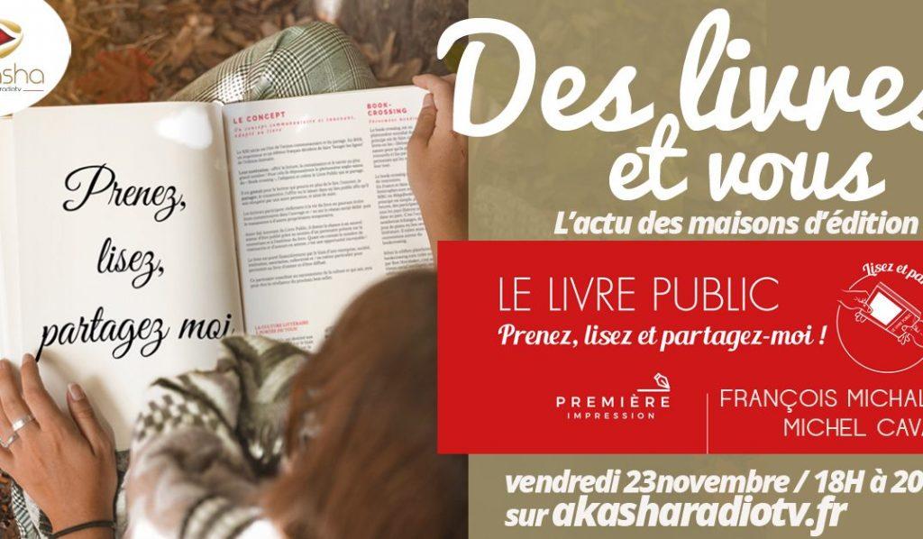 Des livres et vous   François Michalon et Michel Cavard
