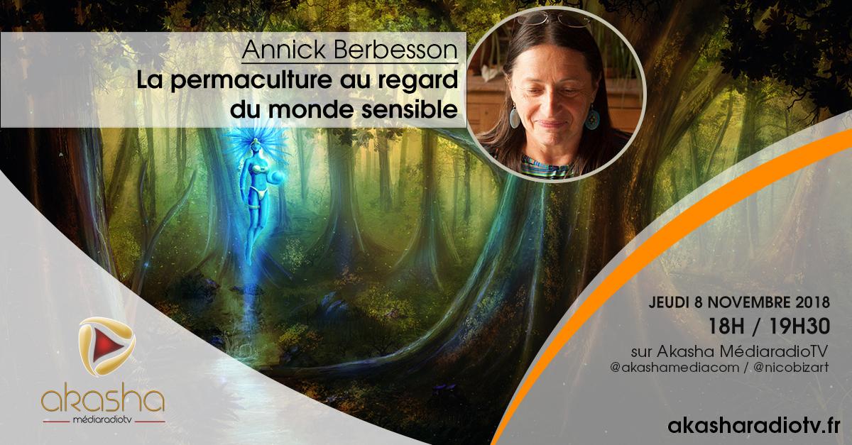 Annick Berbesson | La permaculture au regard du monde sensible