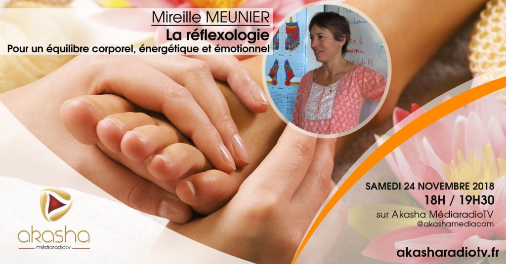 Mireille Meunier   La réflexologie