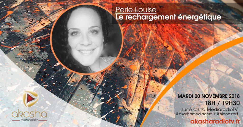 Perle Louise   Se recharger énergétiquement