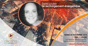Perle Louise | Se recharger énergétiquement