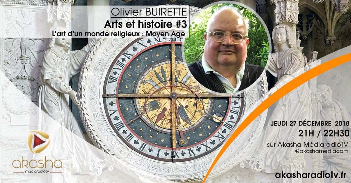 Olivier Buirette | L'art d'un monde religieux, le moyen âge