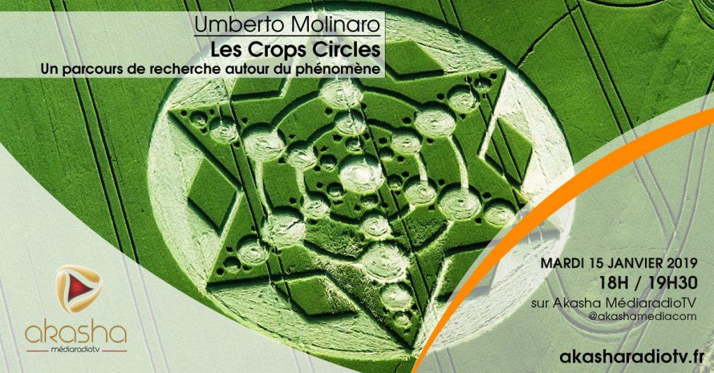 Umberto Molinaro   Les crops circles, recherches et hypothèses