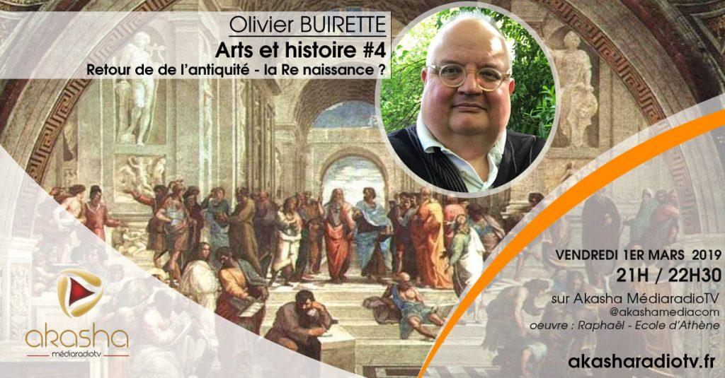 Olivier Buirette   Retour de l'antiquité, la re-naissance ?