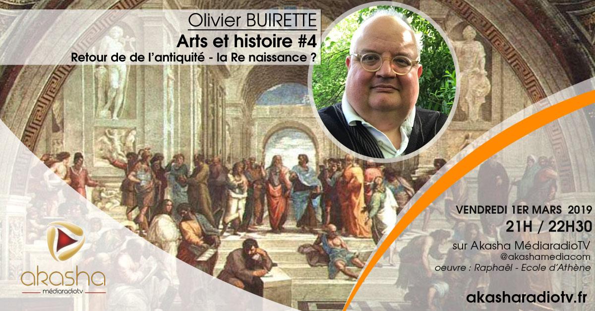 Olivier Buirette | Retour de l'antiquité, la re-naissance ?