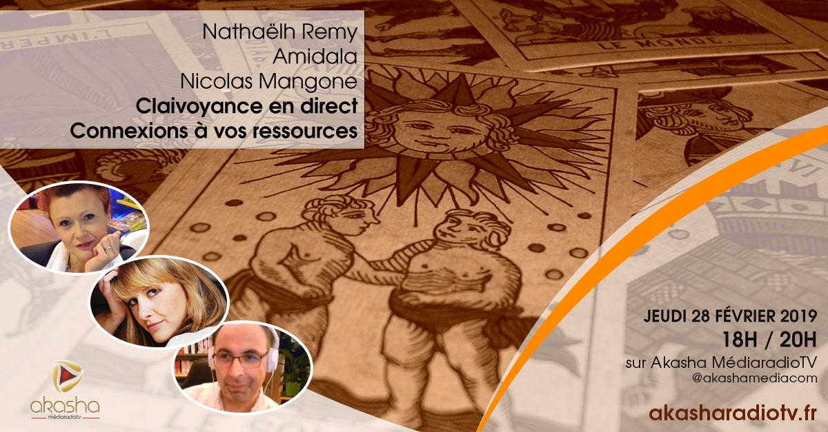 Clairvoyance en direct #4 avec Nicolas, Nathaëlh et Amidala