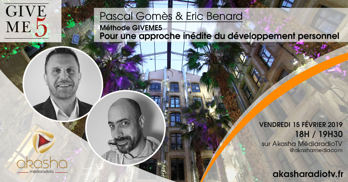 Pascal Gomès et Eric Benard | La méthode GiveMe5