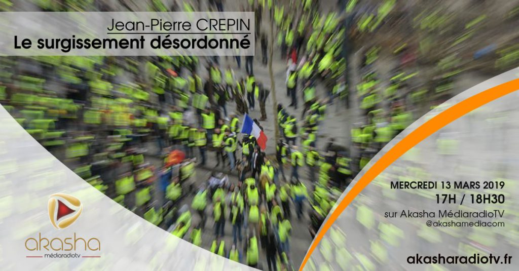 Jean-Pierre Crepin   Le surgissement désordonné