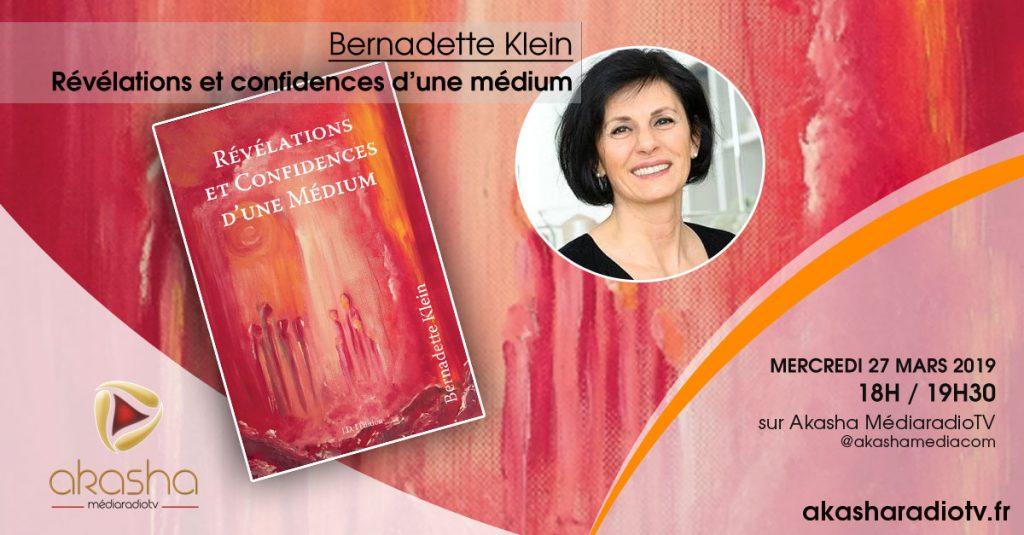 Bernadette KLEIN   Révélations et confidences d'une médium