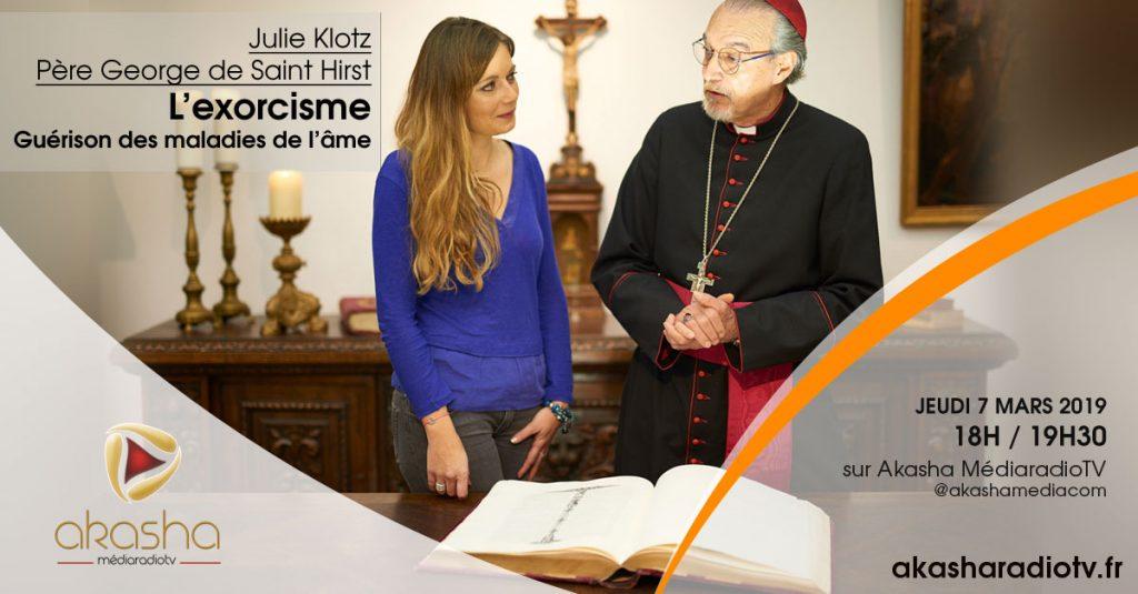 Julie Klotz & Père George de St Hirst   L'exorcisme, guérison des maladies de l'âme