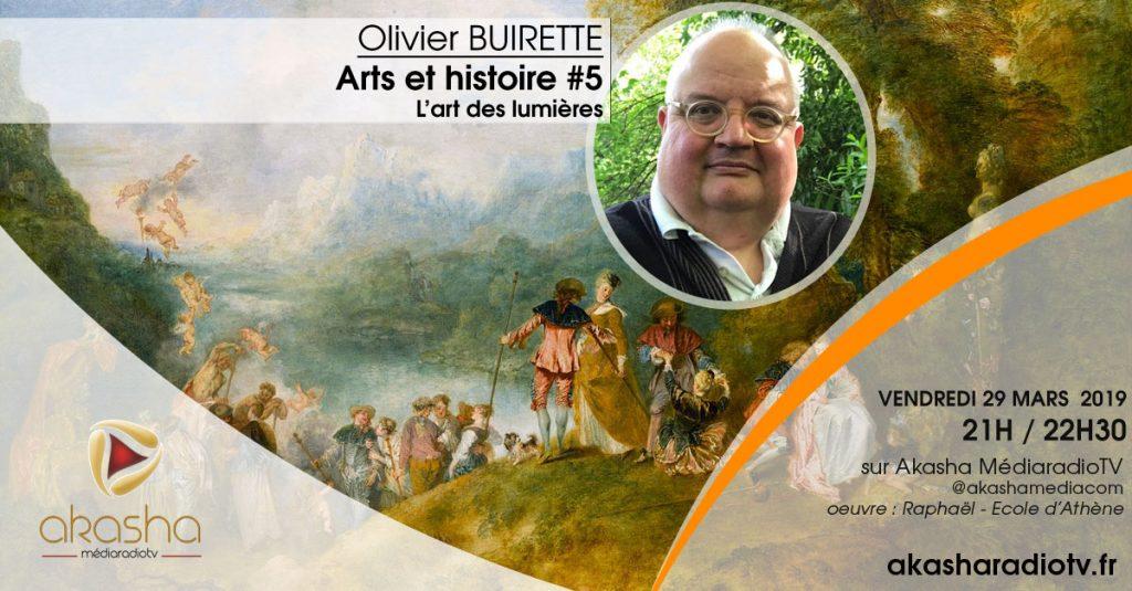 Olivier Buirette   L'art des lumières