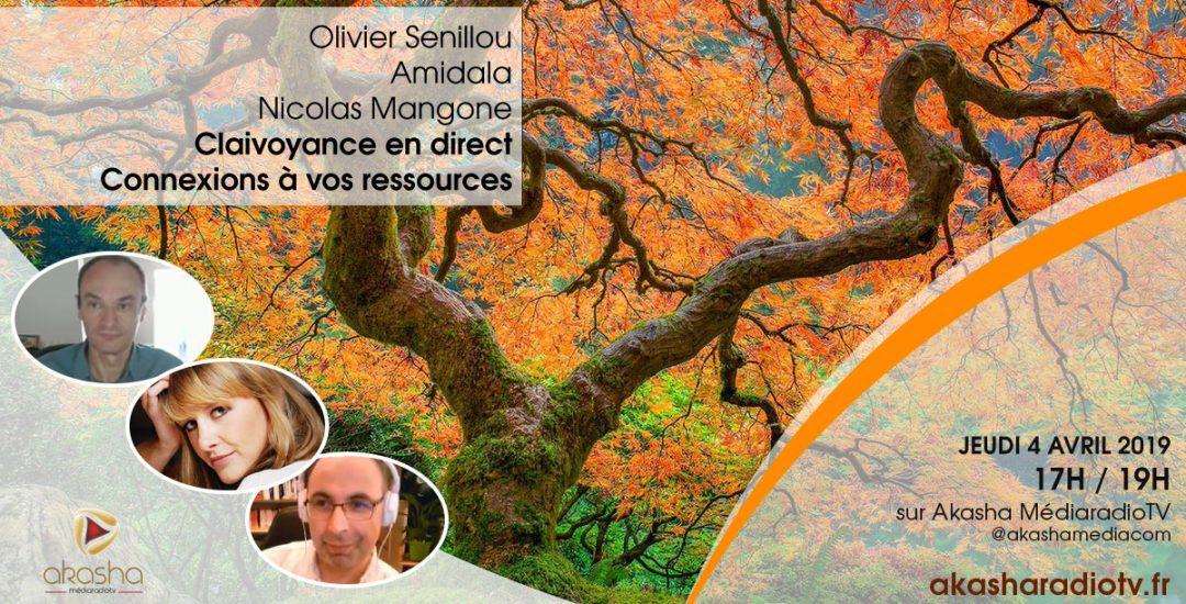 Clairvoyance en direct #5 avec Nicolas, Olivier Senillou et Amidala