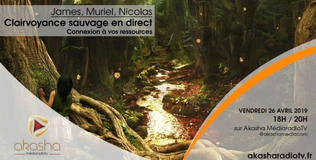 Clairvoyance en direct #6 avec James, Muriel et Nicolas