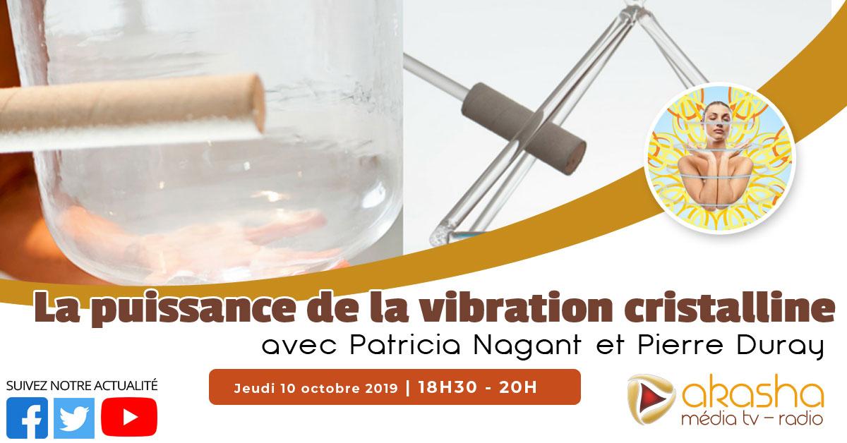 La puissance de la vibration cristalline | Patricia Nagant