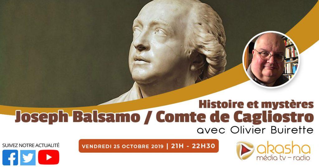 Le comte de Cagliostro – Joseph Balsamo | Olivier Buirette