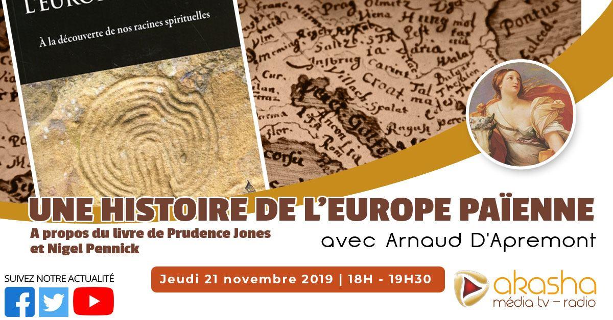 Une histoire de l'Europe païenne | Arnaud d'Apremont