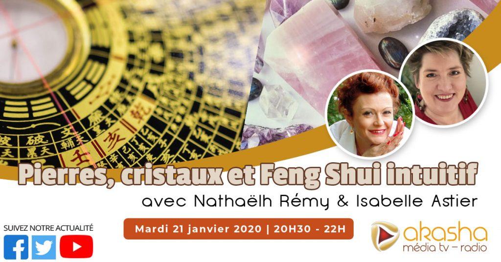 Pierres, cristaux et Feng Shui intuitif | Nathaëlh Remy et Isabelle Astier