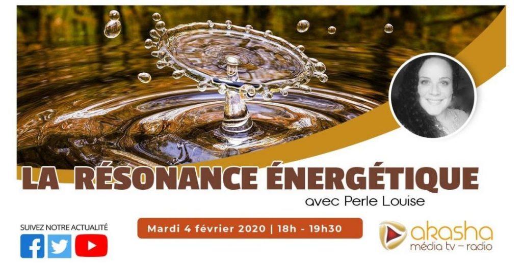 La résonance énergétique | Perle Louise