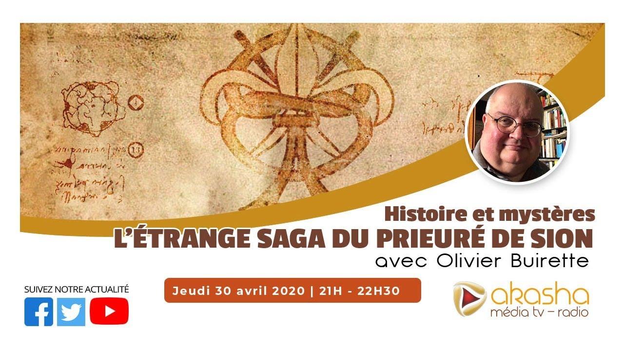 L'étrange saga du Prieuré de Sion | Olivier Buirette