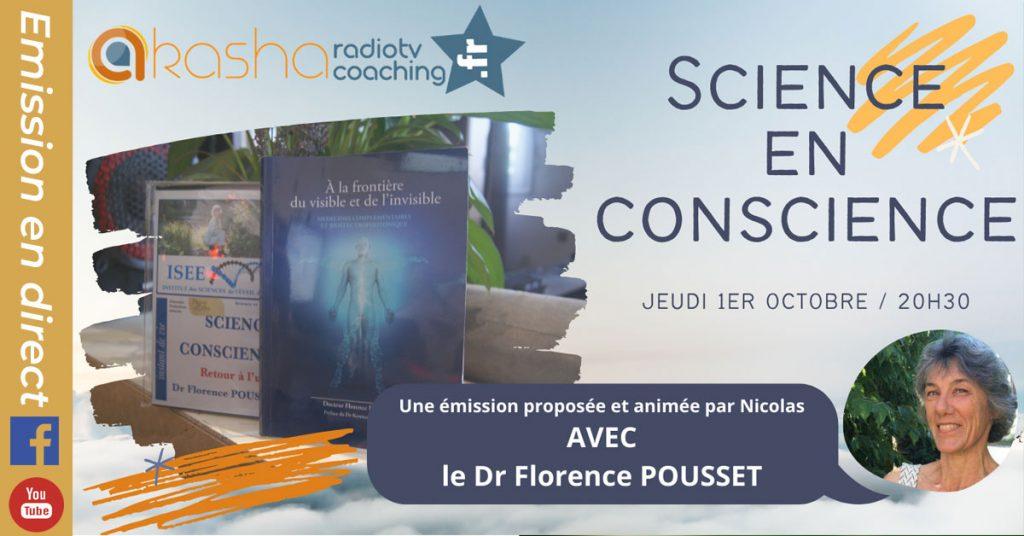 Science en conscience | Dr Florence Pousset