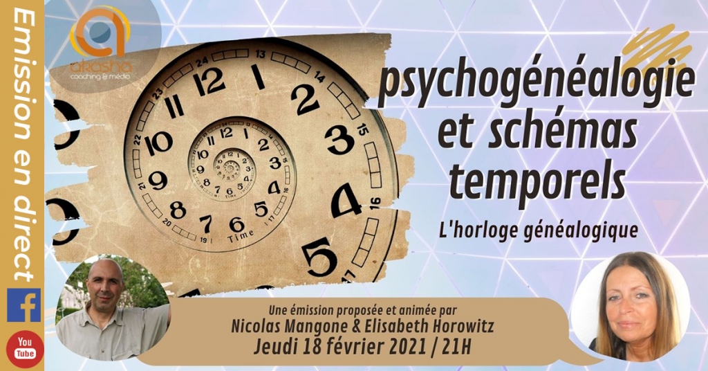 Psychogénéalogie et schémas temporels